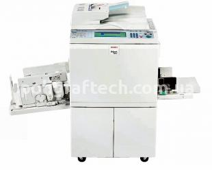 Ricoh HQ 9000 Digital Duplicating Printers с интерфейсом